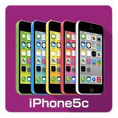 iPhone5Cの修理メニュー